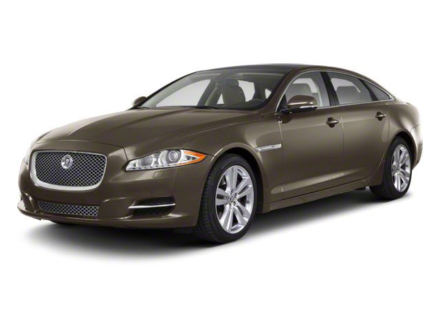 Vapour Grey 2011 Jaguar XJ Pictures XJ Sedan 4D L Supersport photos front view