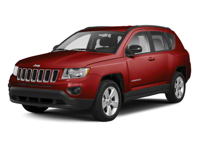 Deep Cherry Red Crystal Pearl 2011 Jeep Compass Pictures Compass Utility 4D Latitude 4WD photos front view