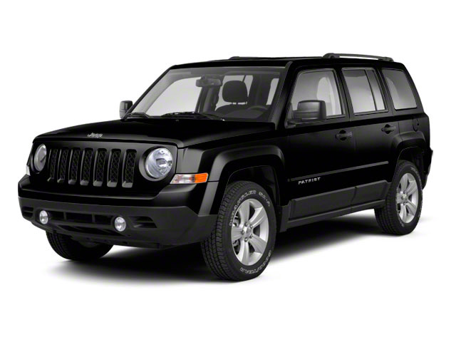 Brilliant Black Crystal Pearl 2011 Jeep Patriot Pictures Patriot Utility 4D Latitude X 2WD photos front view