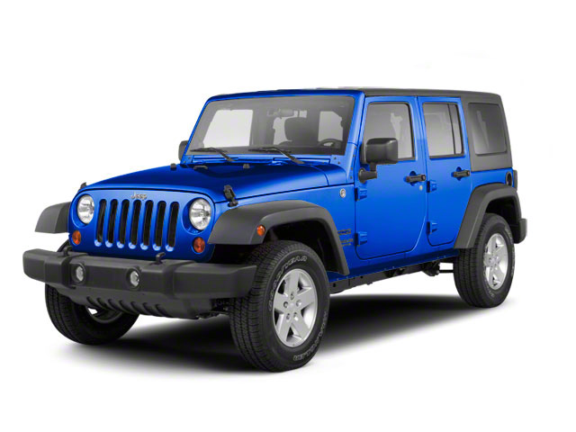 Cosmos Blue 2011 Jeep Wrangler Unlimited Pictures Wrangler Unlimited Utility 4D Unlimited Sport 4WD photos front view
