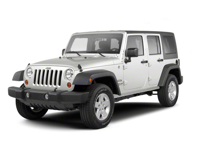 Bright White Clear Coat 2011 Jeep Wrangler Unlimited Pictures Wrangler Unlimited Utility 4D Unlimited Sahara 4WD photos front view