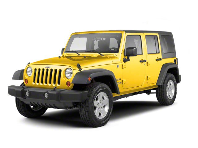 Detonator Yellow Clear Coat 2011 Jeep Wrangler Unlimited Pictures Wrangler Unlimited Utility 4D Unlimited Sport 4WD photos front view