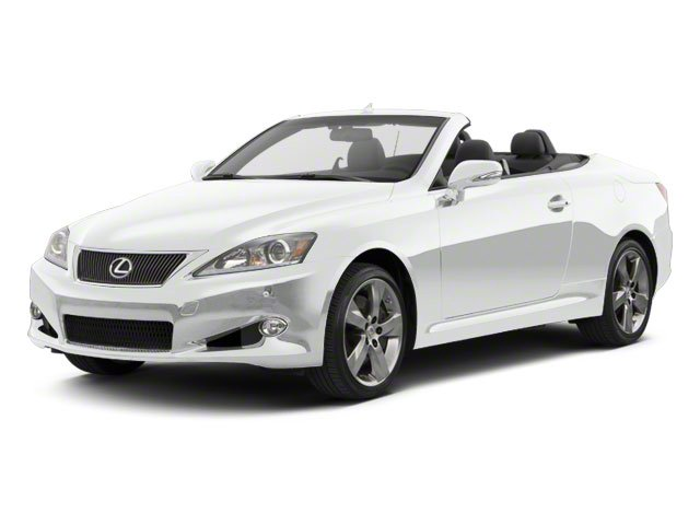 Tungsten Pearl 2011 Lexus IS 350C Pictures IS 350C Convertible 2D IS350 photos front view