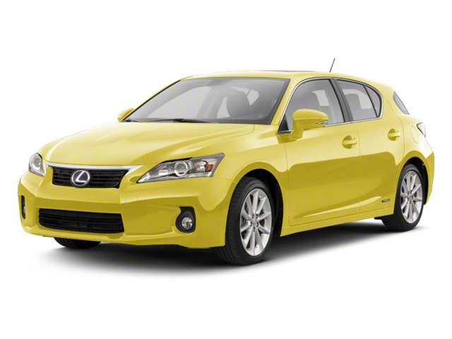 Daybreak Yellow Mica 2011 Lexus CT 200h Pictures CT 200h Hatchback 5D CT200h photos front view