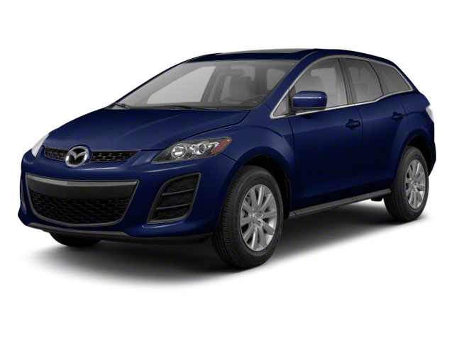 Stormy Blue Mica 2011 Mazda CX-7 Pictures CX-7 Utility 4D s GT AWD photos front view