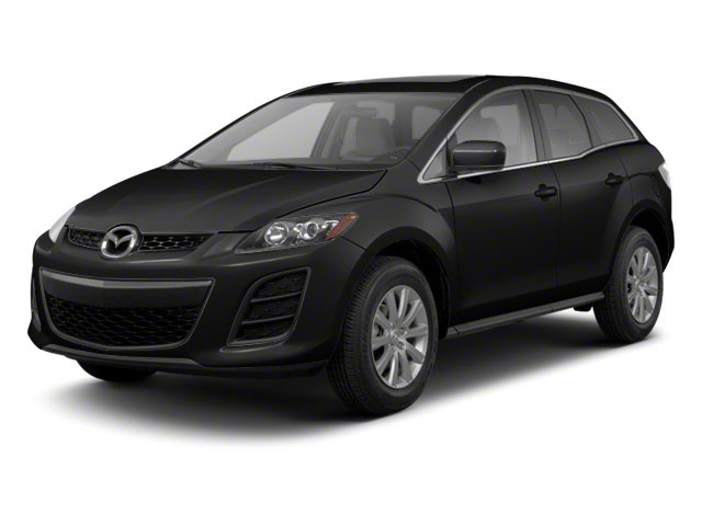 Brilliant Black 2011 Mazda CX-7 Pictures CX-7 Utility 4D s GT AWD photos front view