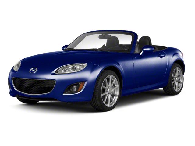Stormy Blue Mica 2011 Mazda MX-5 Miata Pictures MX-5 Miata Convertible 2D Touring photos front view