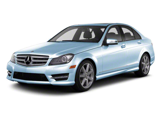 Quartz Blue Metallic 2011 Mercedes-Benz C-Class Pictures C-Class Sport Sedan 4D C350 photos front view