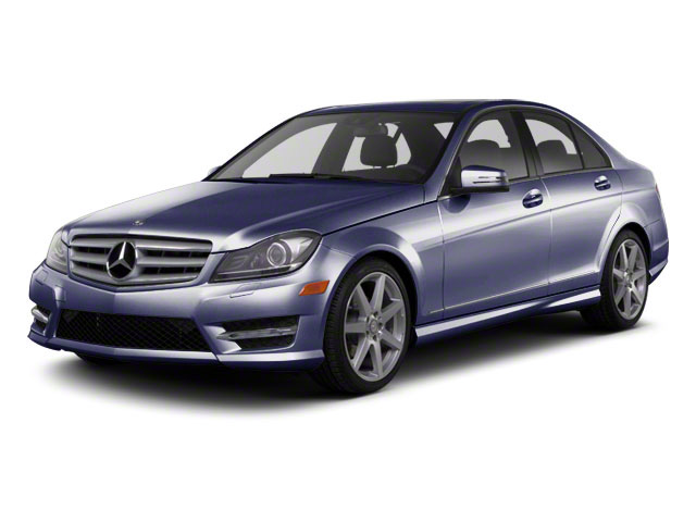 Capri Blue Metallic 2011 Mercedes-Benz C-Class Pictures C-Class Sport Sedan 4D C350 photos front view