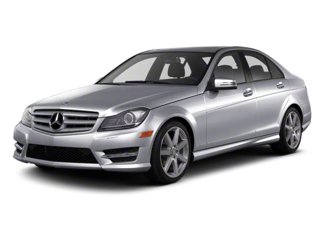 Steel Grey Metallic 2011 Mercedes-Benz C-Class Pictures C-Class Sport Sedan 4D C350 photos front view
