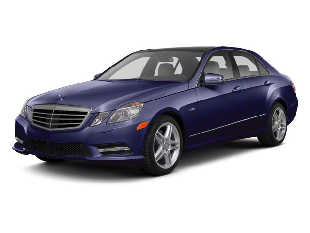 Designo Mystic Blue Metallic 2011 Mercedes-Benz E-Class Pictures E-Class Sedan 4D E550 AWD photos front view