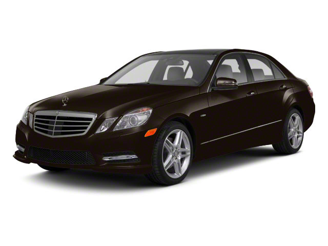 Designo Mocha Black Metallic 2011 Mercedes-Benz E-Class Pictures E-Class Sedan 4D E550 AWD photos front view