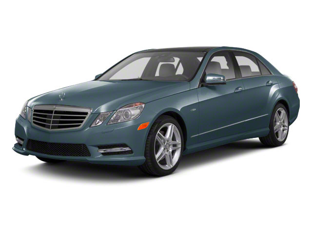 Quartz Blue Metallic 2011 Mercedes-Benz E-Class Pictures E-Class Sedan 4D E550 AWD photos front view