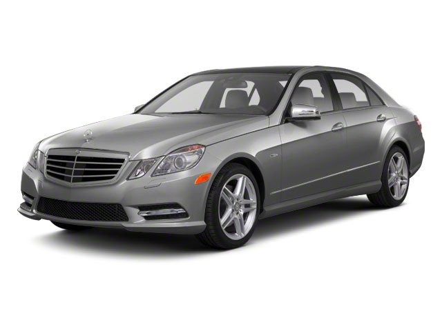 Iridium Silver Metallic 2011 Mercedes-Benz E-Class Pictures E-Class Sedan 4D E550 AWD photos front view