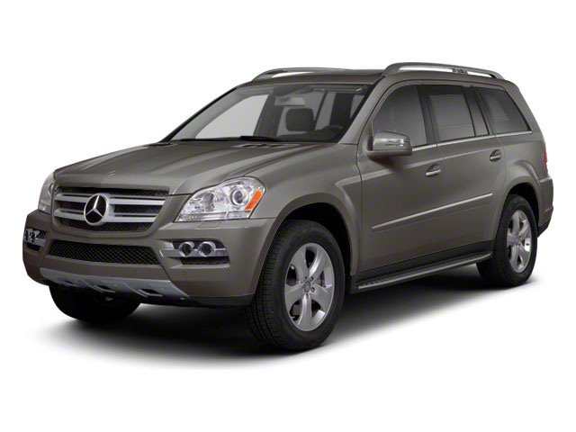 Palladium Silver Metallic 2011 Mercedes-Benz GL-Class Pictures GL-Class Utility 4D GL450 4WD photos front view