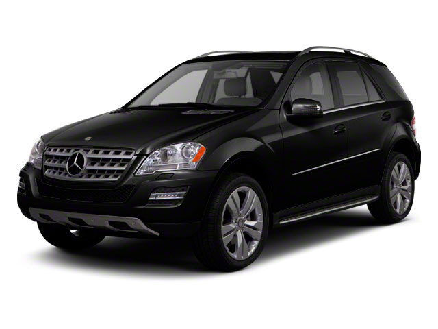 Black 2011 Mercedes-Benz M-Class Pictures M-Class Utility 4D ML550 AWD photos front view