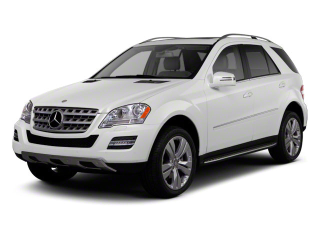 Arctic White 2011 Mercedes-Benz M-Class Pictures M-Class Utility 4D ML63 AMG AWD photos front view