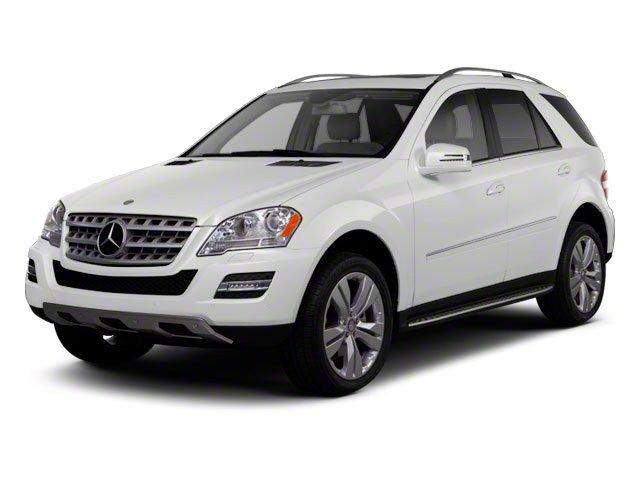 Arctic White 2011 Mercedes-Benz M-Class Pictures M-Class Utility 4D ML450 Hybrid AWD photos front view