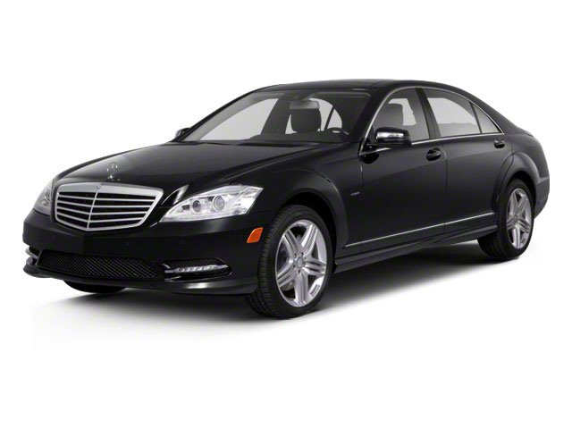 Black 2011 Mercedes-Benz S-Class Pictures S-Class Sedan 4D S600 photos front view