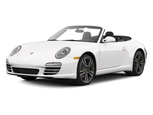Platinum Silver Metallic 2011 Porsche 911 Pictures 911 Cabriolet 2D S photos front view