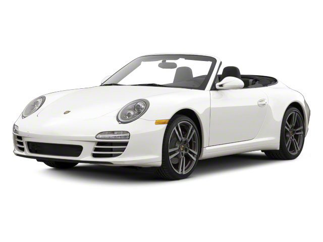 Carrara White 2011 Porsche 911 Pictures 911 Cabriolet 2D photos front view
