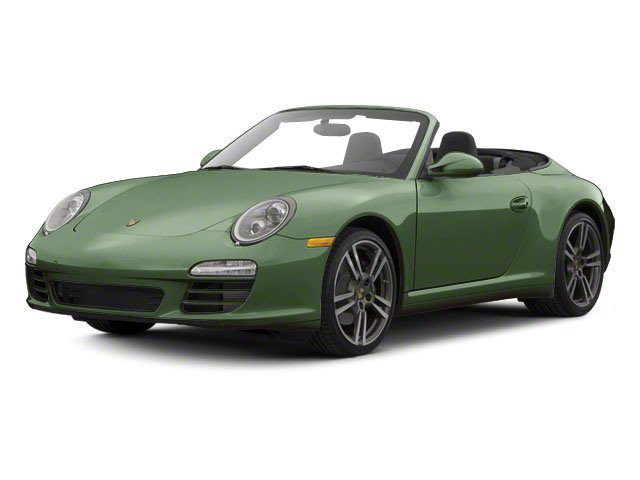Porsche Racing Green Metallic 2011 Porsche 911 Pictures 911 Cabriolet 2D photos front view