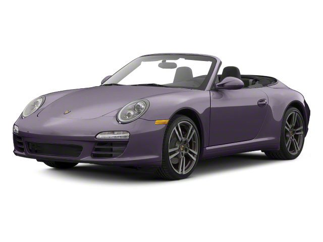 Amethyst Metallic 2011 Porsche 911 Pictures 911 Cabriolet 2D photos front view