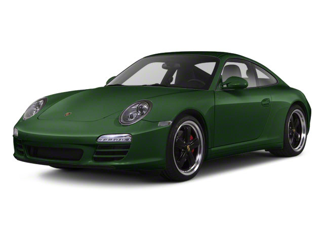 Porsche Racing Green Metallic 2011 Porsche 911 Pictures 911 Coupe 2D 4S Targa AWD photos front view