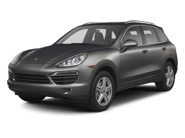 Meteor Gray Metallic 2011 Porsche Cayenne Pictures Cayenne Utility 4D S AWD (V8) photos front view