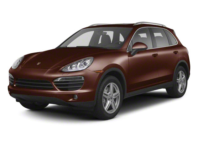 Auburn Metallic 2011 Porsche Cayenne Pictures Cayenne Utility 4D S Hybrid AWD (V6) photos front view