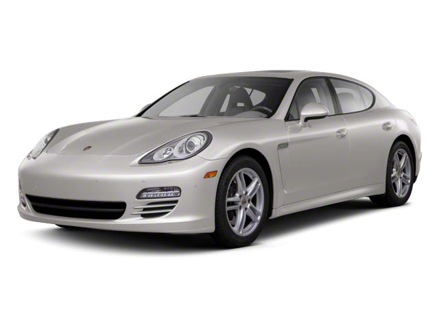 Platinum Silver Metallic 2011 Porsche Panamera Pictures Panamera Hatchback 4D photos front view