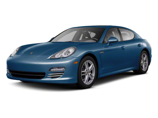 Aqua Blue Metallic 2011 Porsche Panamera Pictures Panamera Hatchback 4D photos front view