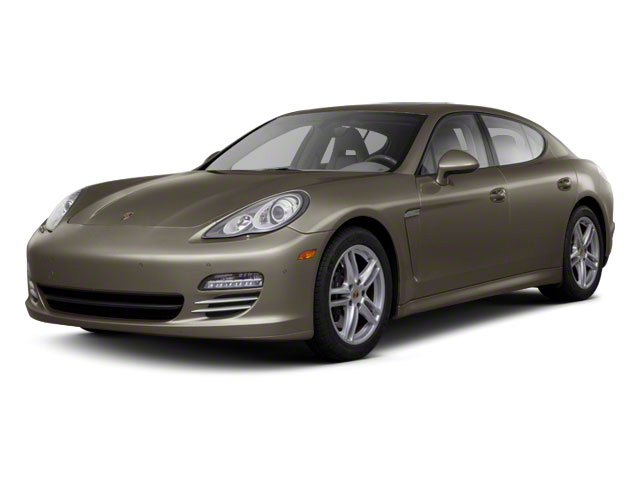 Topaz Brown Metallic 2011 Porsche Panamera Pictures Panamera Hatchback 4D photos front view