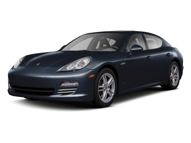 Dark Blue Metallic 2011 Porsche Panamera Pictures Panamera Hatchback 4D photos front view