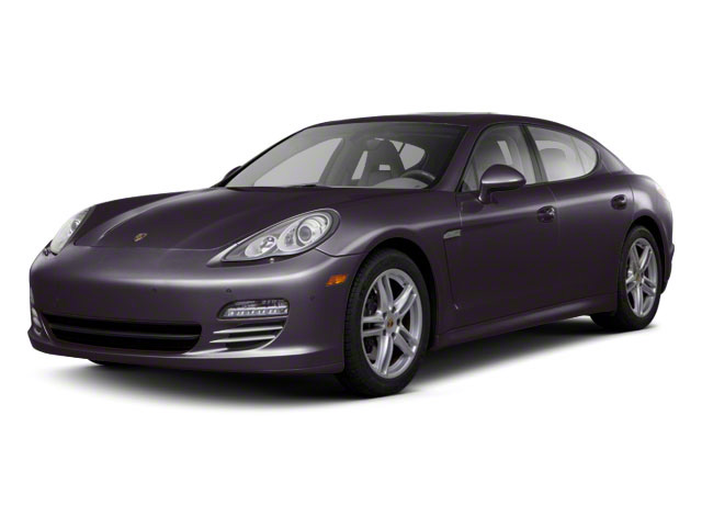 Amethyst Metallic 2011 Porsche Panamera Pictures Panamera Hatchback 4D photos front view