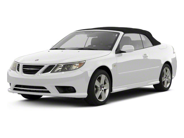 Arctic White 2011 Saab 9-3 Pictures 9-3 Convertible 2D Aero Turbo photos front view