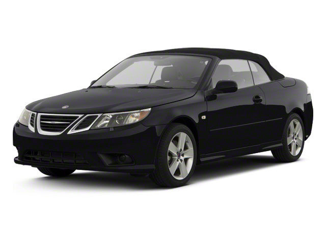 Black 2011 Saab 9-3 Pictures 9-3 Convertible 2D Aero Turbo photos front view