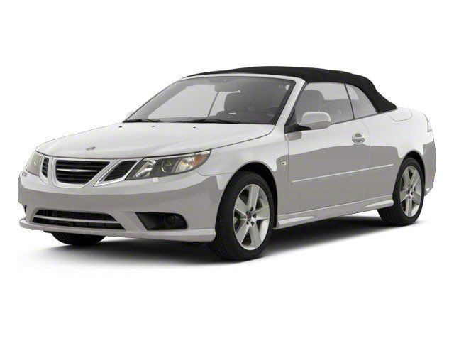 Diamond Silver Metallic 2011 Saab 9-3 Pictures 9-3 Convertible 2D Turbo photos front view