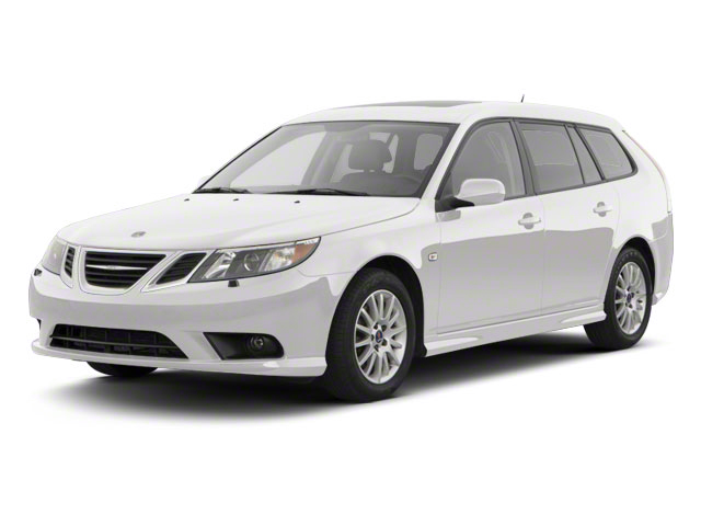 Arctic White 2011 Saab 9-3 Pictures 9-3 Wagon 5D SportCombi Turbo photos front view