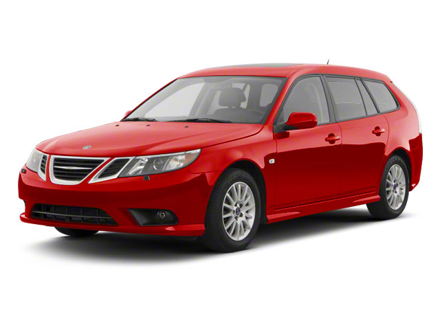 Laser Red 2011 Saab 9-3 Pictures 9-3 Wagon 5D SportCombi Aero Turbo photos front view