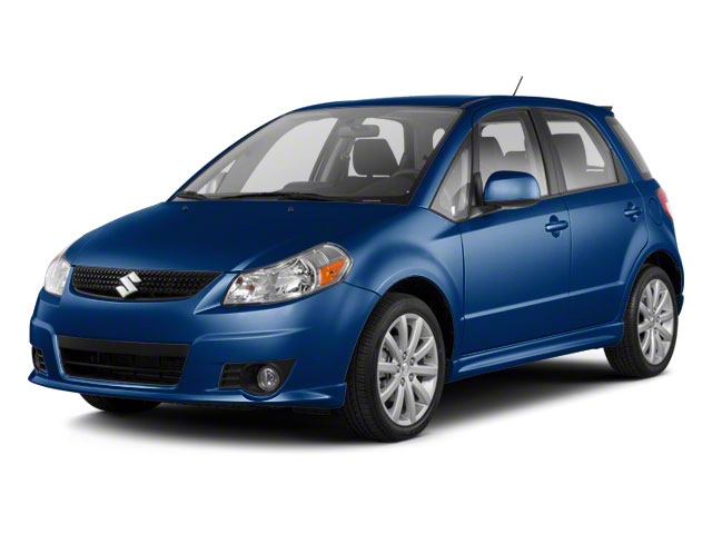 Deep Sea Blue Metallic 2011 Suzuki SX4 Pictures SX4 Hatchback 5D photos front view