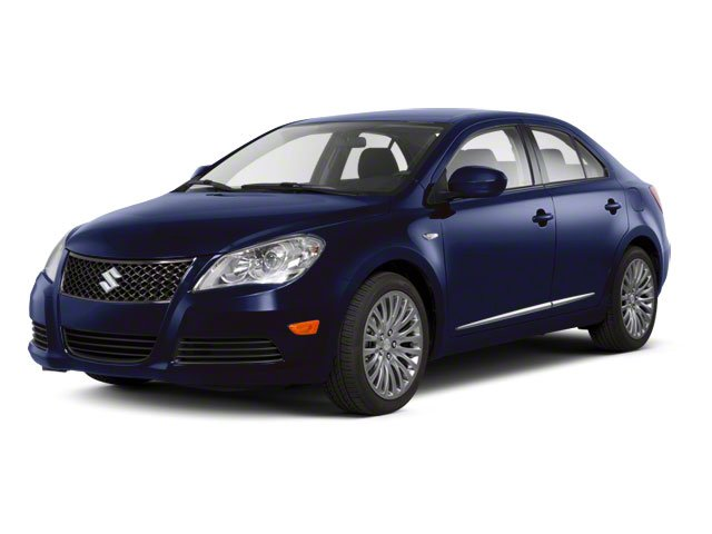 Deep Sea Blue Metallic 2011 Suzuki Kizashi Pictures Kizashi Sedan 4D SE AWD photos front view
