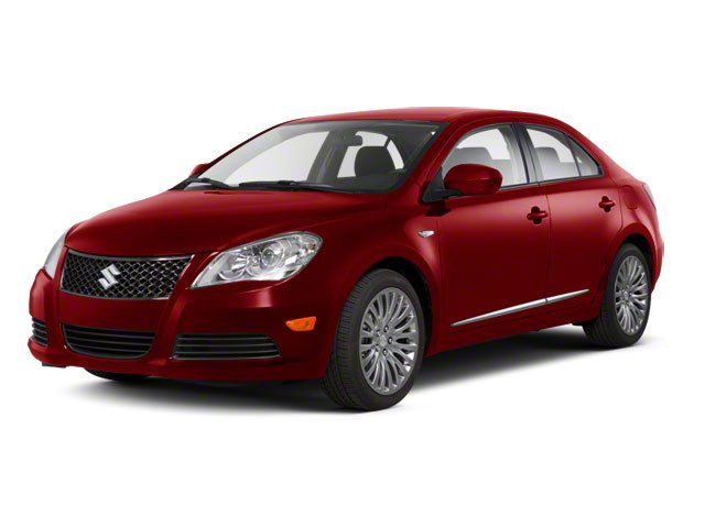 Vivid Red 2011 Suzuki Kizashi Pictures Kizashi Sedan 4D GTS AWD photos front view