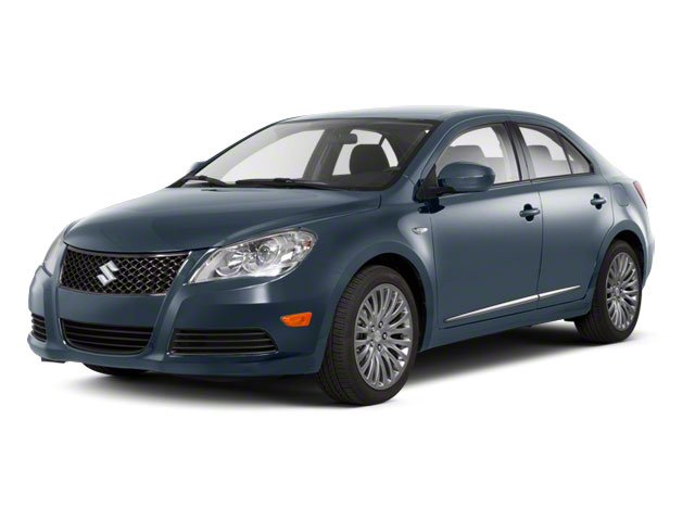 Ice Blue Metallic 2011 Suzuki Kizashi Pictures Kizashi Sedan 4D SE AWD photos front view