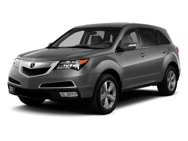 Polished Metal Metallic 2012 Acura MDX Pictures MDX Utility 4D Advance DVD AWD photos front view
