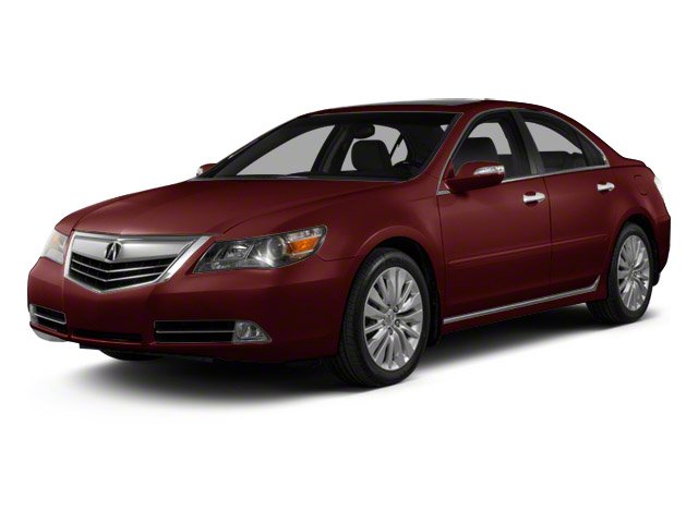 Pomegranate Pearl 2012 Acura RL Pictures RL Sedan 4D Technology photos front view