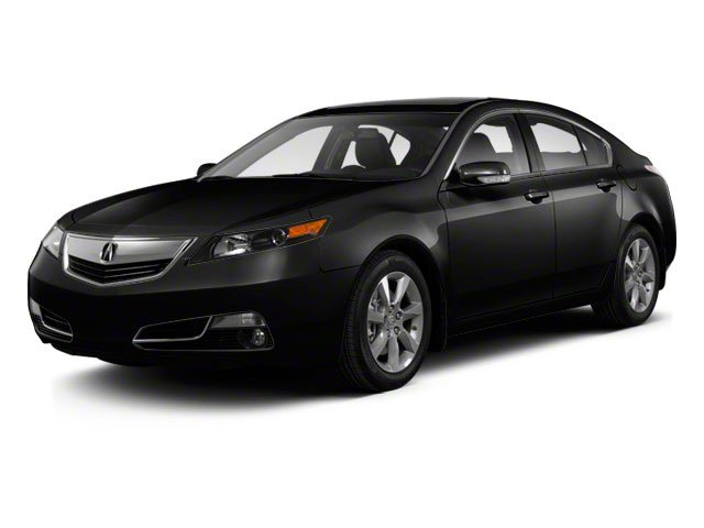 Crystal Black Pearl 2012 Acura TL Pictures TL Sedan 4D Advance photos front view