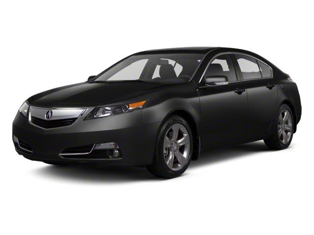 Crystal Black Pearl 2012 Acura TL Pictures TL Sedan 4D Advance AWD photos front view