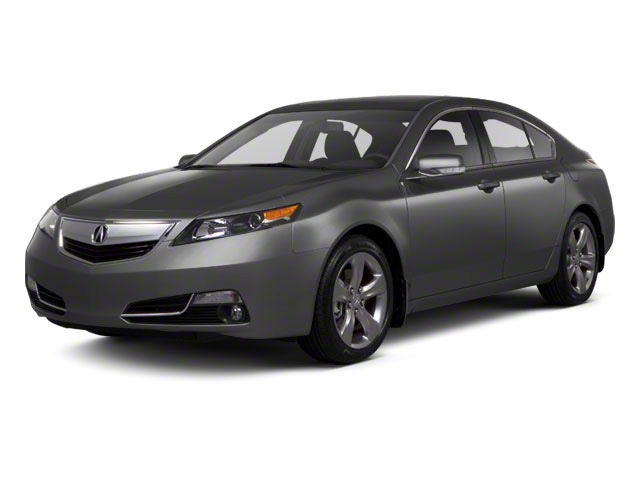 Graphite Luster Metallic 2012 Acura TL Pictures TL Sedan 4D Advance AWD photos front view