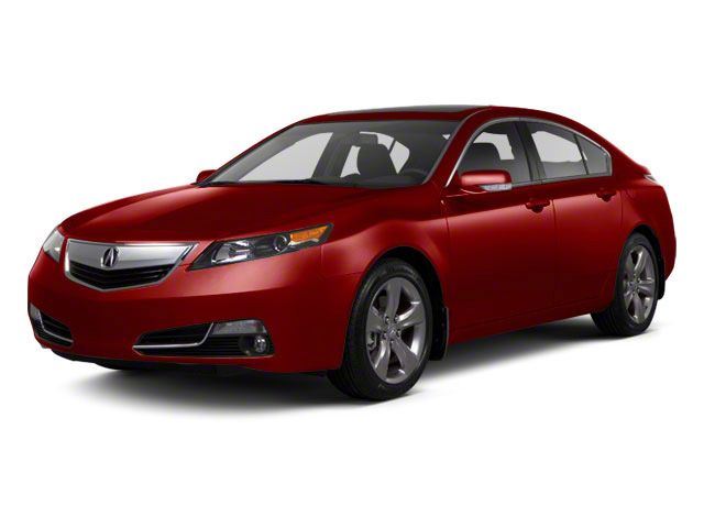 Basque Red Pearl II 2012 Acura TL Pictures TL Sedan 4D Advance AWD photos front view